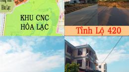 Mở Bán Gần 100 Lô Đất Lk tại Khu Đô Thị Vệ Tinh Hòa Lạc