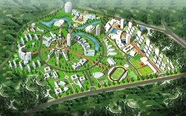 đất nền, đất Hòa Lạc, đô thị vệ tinh, khu công nghệ cao